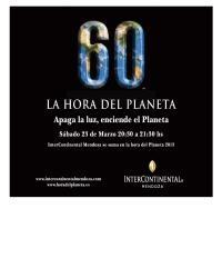 InterContinental Mendoza - La Hora del Planeta 2013