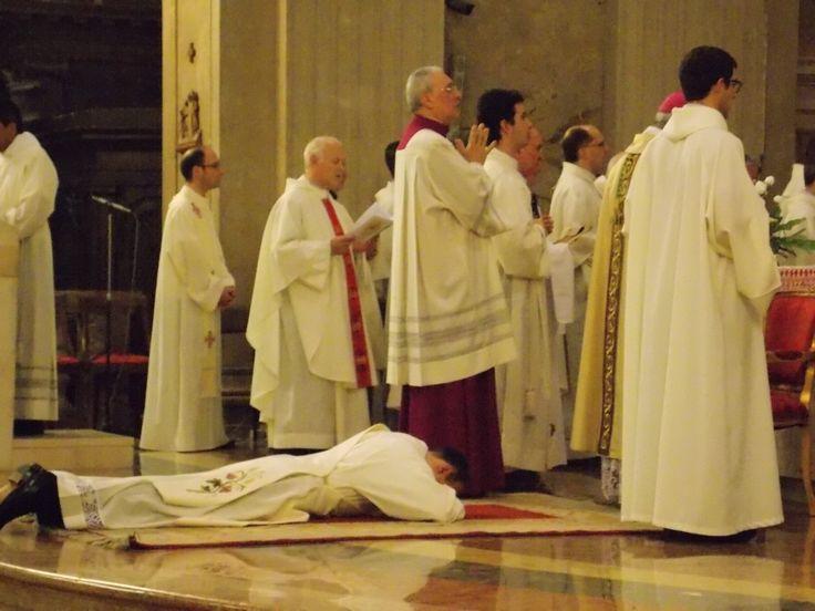 Il rito di ordinazione sacerdotale