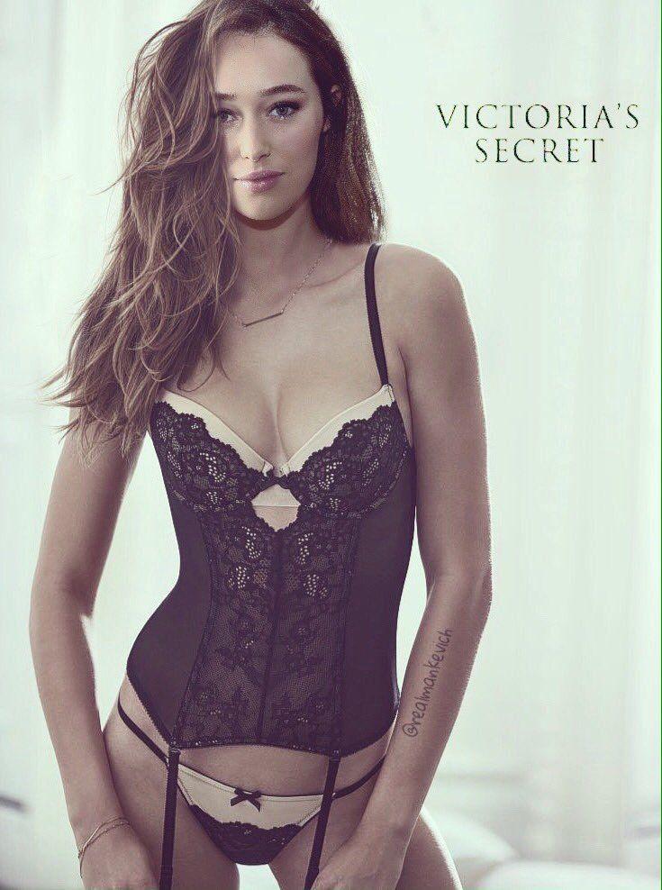 5beefe7e58 Alycia Debnam-Carey Victoria Secrets Lingerie