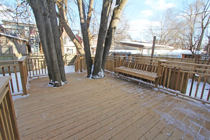 For sale, 563 St Clarens Ave, Toronto, real estate, Bloordale Village, 3 bedroom, 4 bathroom, home, cedar, brick, backyard, deck