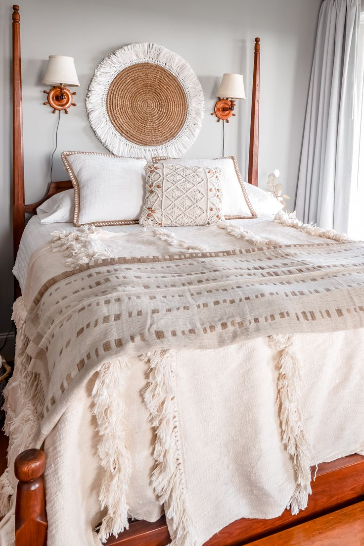 Decorating Dream SCANDI BOHO STYLE Boho style bedding