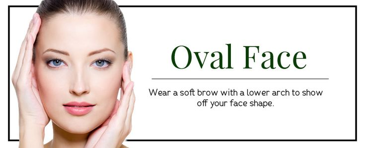 Eyebrow Shapes for oval shaped faces   Different Eyebrow Shapes
