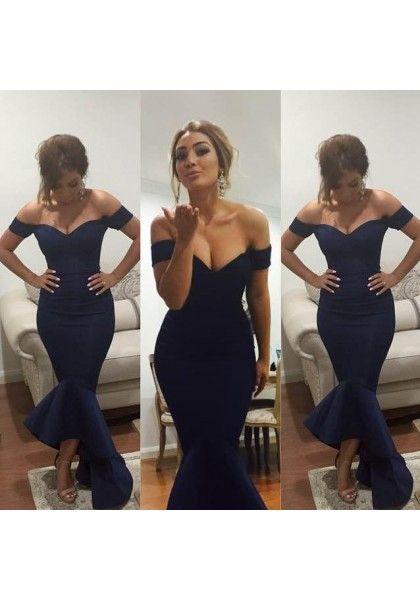 long prom dress, mermaid prom dress, off shoulder prom dress, formal prom dress, evening dress, sexy prom dress, 141575