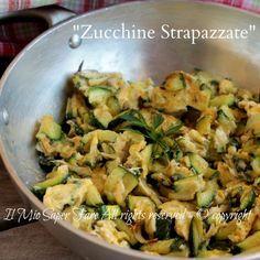 Zucchine e uova strapazzate secondo piatto vegetariano semplice, economico, gustoso. Ricetta con zucchine veloce e facile ottima anche per condire la pasta