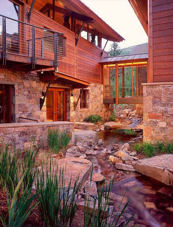 Phenomenal Modern Rustic Mountain Home In Aspen