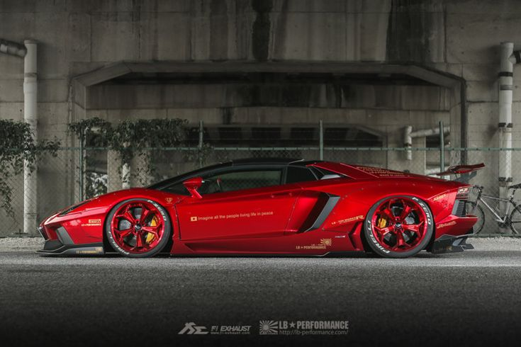 the bloody red liberty walk lamborghini aventador in 11. Black Bedroom Furniture Sets. Home Design Ideas