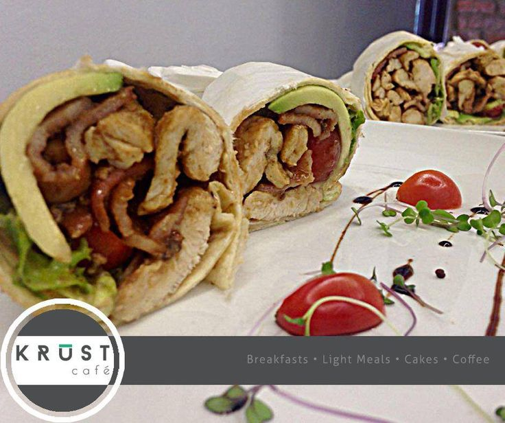 What better way to enjoy a light meal than at #KrustCafe with our famous freshly prepared wraps? Find us at #EdenMeander Lifestyle Centre. #LightMeals #ilovegoodfood