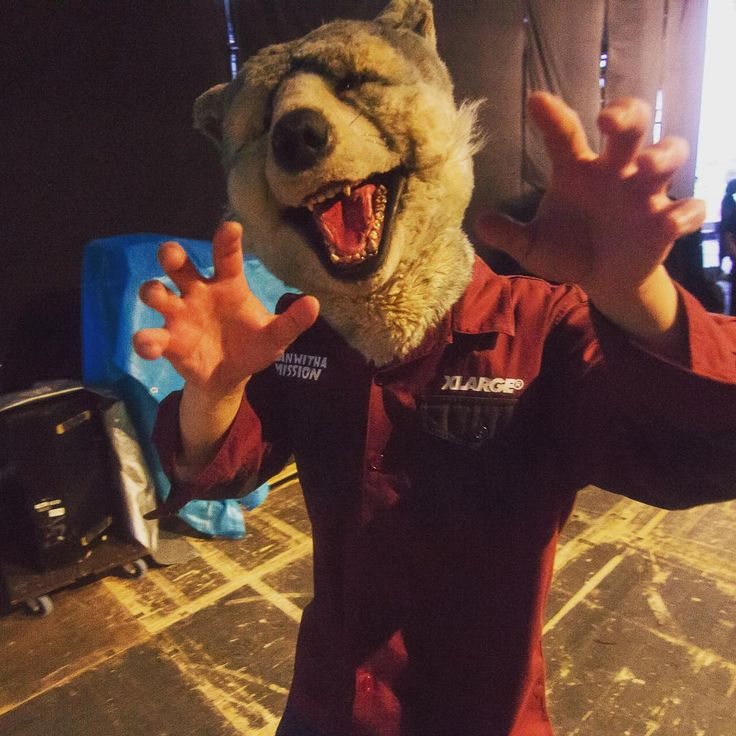 Man With A MissionさんはInstagramを利用しています:「#backstage #stage #festival #music #live #rock #show #manwithamission #mwam #spearrib」