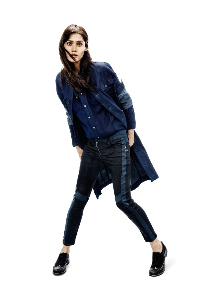 G-Star RAW S/S 2014 Women's Lookbook