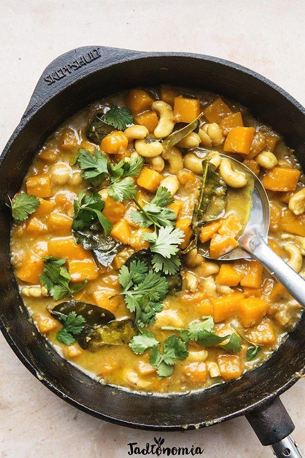Curry z dyni i nerkowców
