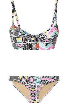 Mara Hoffman - Maya Printed Underwired Bikini