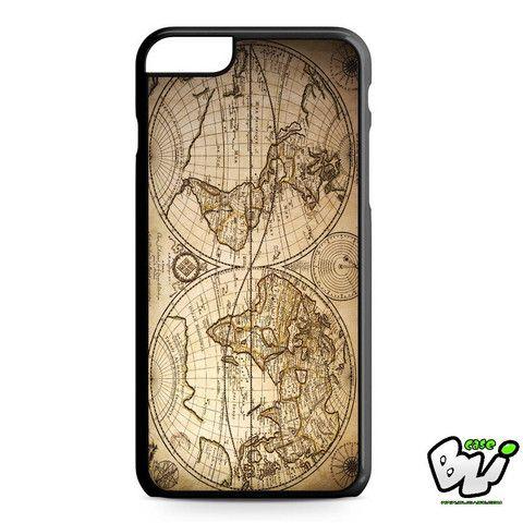 Vintage Map iPhone 6 Plus Case | iPhone 6S Plus Case