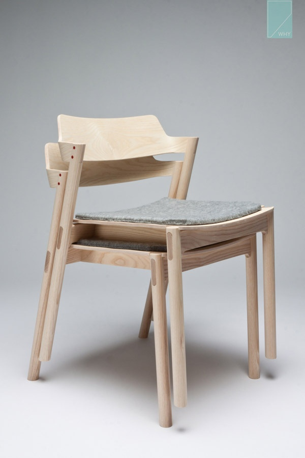 Stackable Chair by Jonah Willcox-Healy, I am impressed.