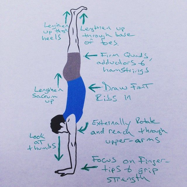 Here are 8 quick tips to align your handstand. I went old-school and am subjecting you to my handwriting. Check out the handstand sequence on my blog--the link is in my bio!