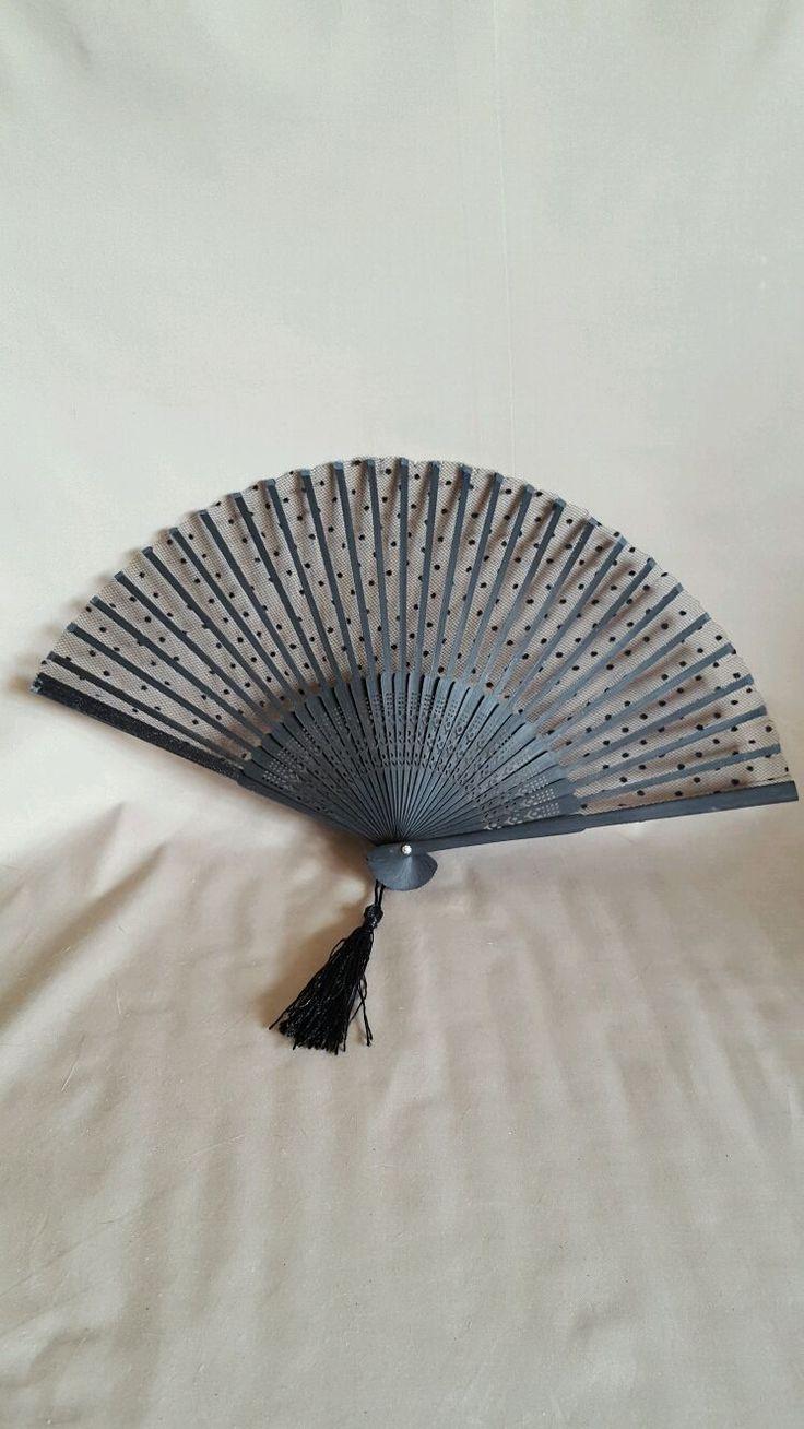 """Купить Веер кружевной черный """" декоративный """" - веер, веер декоративный, декоративный веер"""