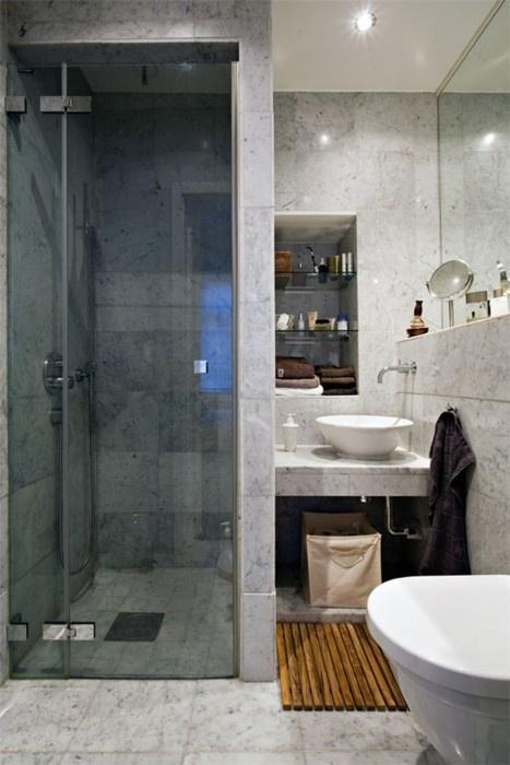 Nice Small Bathroom Setup