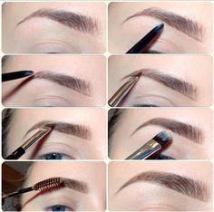 Las cejas bonitas son uno de los adornos principales del rostro. Puedes resaltarlas usando un lápiz, cera o sombras para ojos.