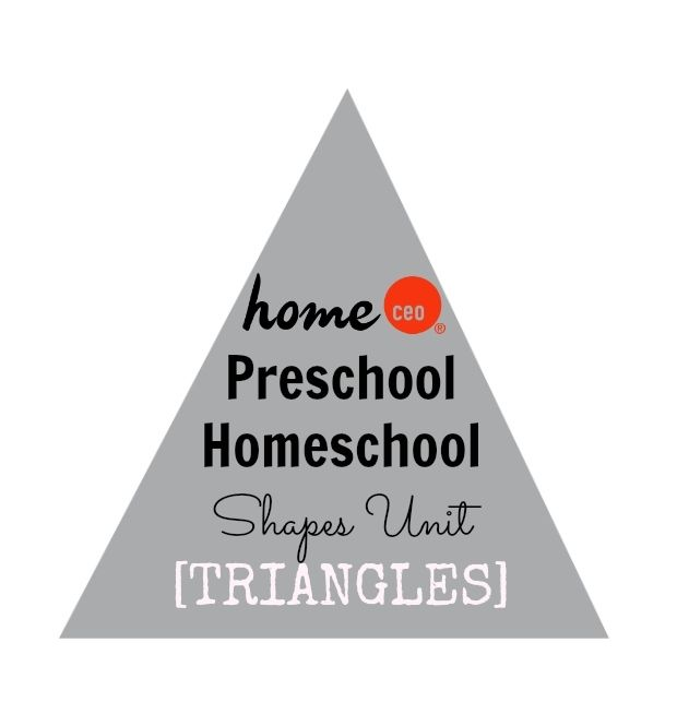 Teach shapes with Home CEO's homeschool preschool curriculum and teaching  kits. 45 weekly themes organized into logical units.
