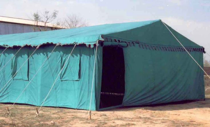 Hospital Tent made for the Indian Army, during the Kargil War.