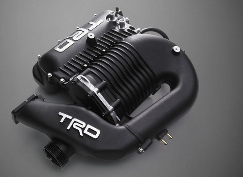 Toyota TRD Supercharger for the Tacoma.