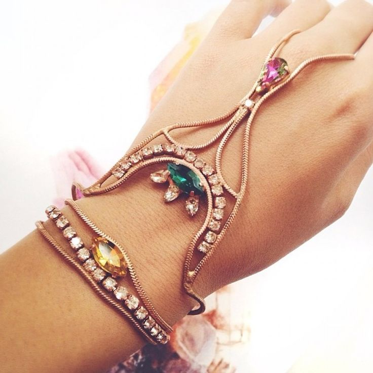 Bracelet Monad Design #bracelet #boho#slave #braceletslave