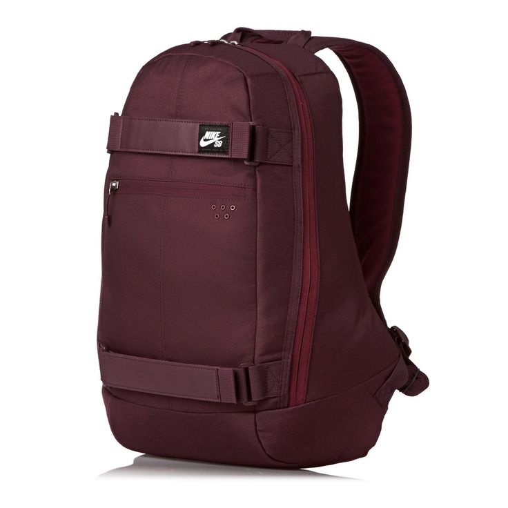 Nike Skateboarding Backpacks - Nike Skateboarding Nike Sb Embarca Medium Backpack - Night Maroon/Team Red/White
