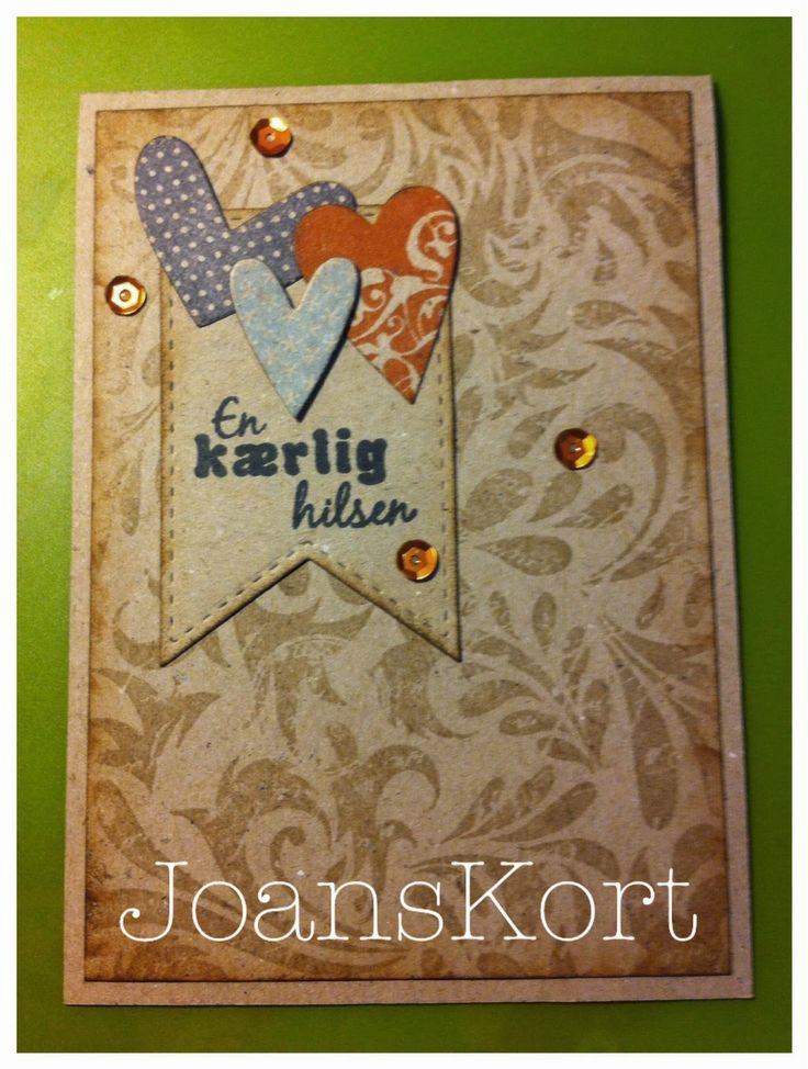JoansKort: Årets første kort.