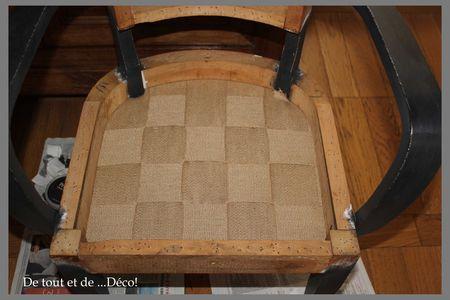 tuto refection fauteuil bridge