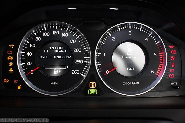 Volvo V60 dials #volvo #v60 #dials more: http://premiummoto.pl/04/07/volvo-v60-d3-ocean-race-nasza-sesja