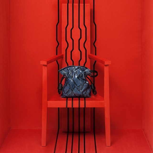 "LOEWE, (Visual New Concept), CAMOUFLAGE: ""Featuring A/W Flamenco Bag"", pinned by Ton van der Veer"