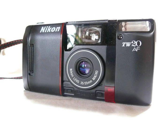 Nikon TW20 Auto Focus, Vintage Camera, 35/55mm Macro, Nikon Camera, 35mm Film Camera, Vintage Nikon, Autofocus Camera, Compact Camera by HarmlessBananasTribe on Etsy