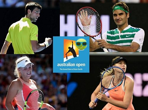 Day-1 of 2016 Australian Open is concluded and find the complete results, scores of men's and women's singles events. Top players win first round matches.