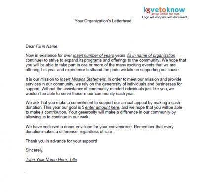dieser brief ist ein beispiel einen rechenschafts aufforderung solicitation letter free sample letters