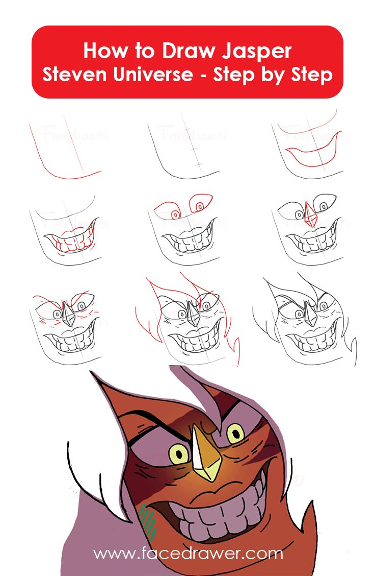 Your Favourite Cartoon Series is Steven Universe? Learn how to draw Jasper from Steven Universe. Just follow along the easy steps and learn how to draw Jasper.