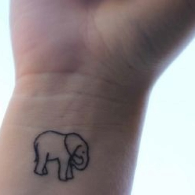 I have an odd obsession with elephants