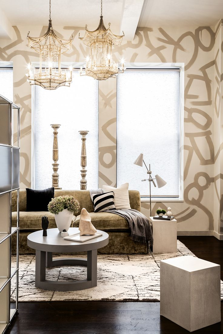 47 best Upholstered Walls & Wallpaper images on Pinterest | Wall ...