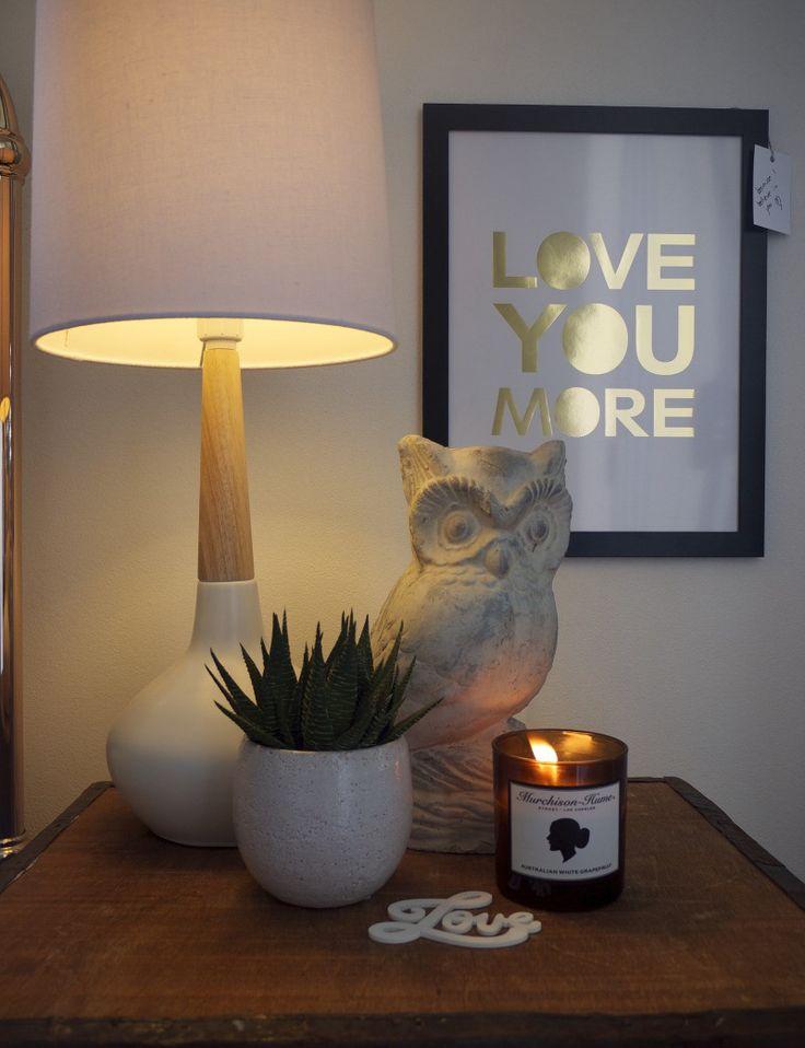 Super Amart - Bedside Table Makeover on The Life Creative