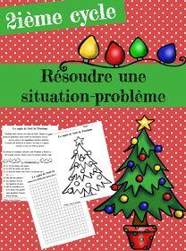 Je viens tout juste de terminer une situation-problème sur le thème de Noël. Elle s'adresse aux élèves du deuxième cycle. Elle travaille l...