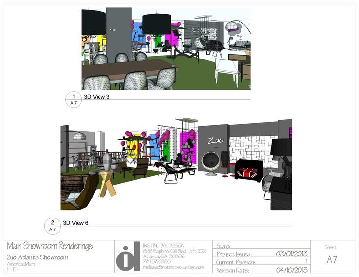 showroom renderings