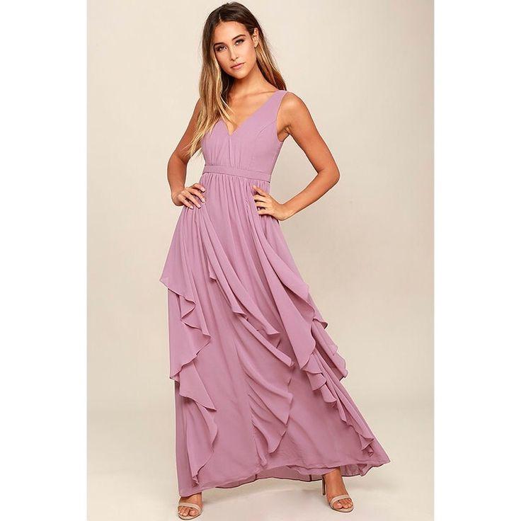 Mejores 18 imágenes de purple Bridesmaid Dresses en Pinterest ...