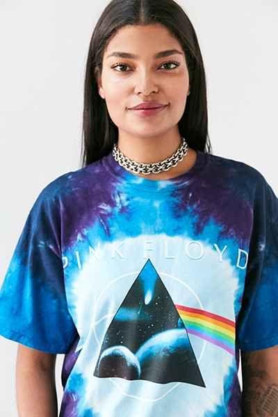 T-shirt teint par nœuds Pink Floyd 49$