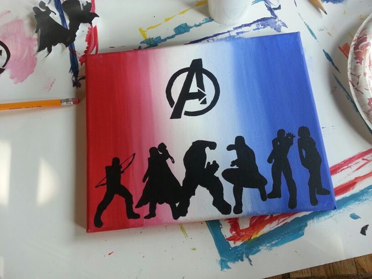 Avenger Acrylic Paintings