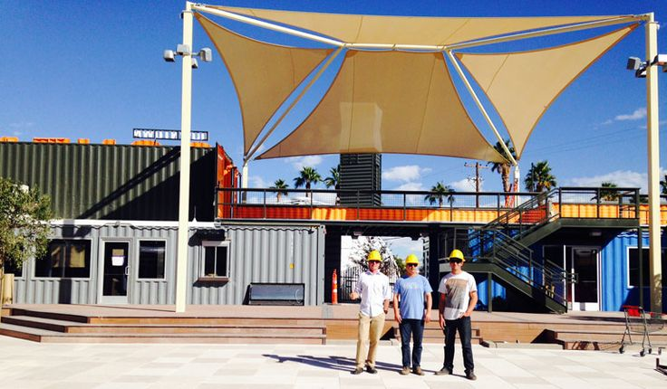 Ipme downtown container park grand opening in las vegas december 5 2013 great ideas - Container homes las vegas ...