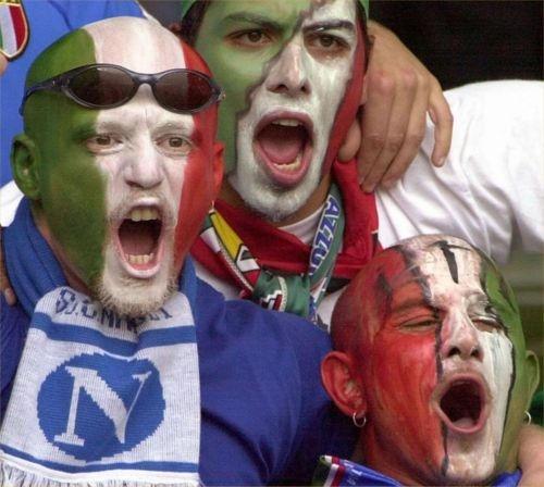 Tifosi italiani in trasferta