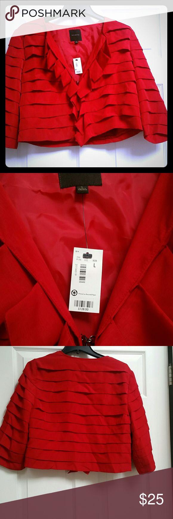 I just added this listing on Poshmark: Beautiful red bolero style jacket. #shopmycloset #poshmark #fashion #shopping #style #forsale #The Limited #Jackets & Blazers