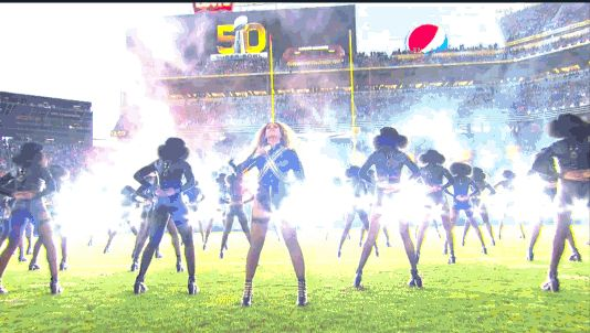Slay. | Beyoncé Almost Fell During Her Halftime Show And No One Noticed