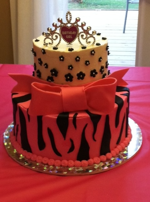 My 15th Birthday Cake Getting Ready For The Big 15