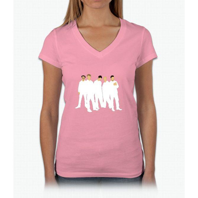 Backstreet's Back! Womens V-Neck T-Shirt