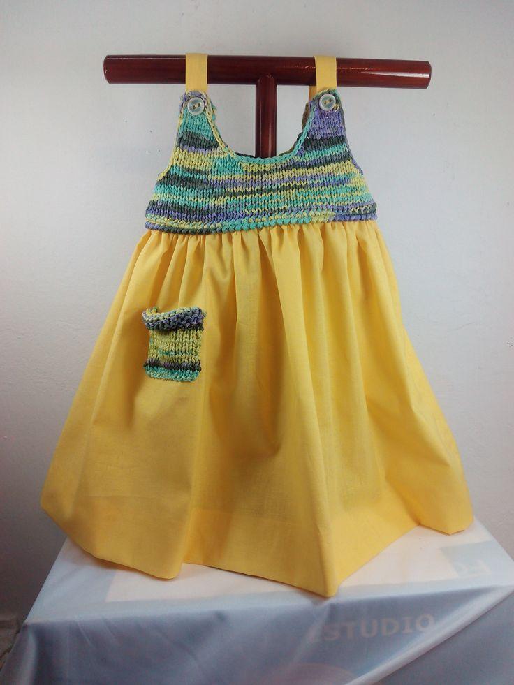 Club de la Aguja | I 143 Vestido Amarillo