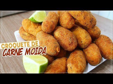 CROQUETE DE CARNE MOÍDA SUPER FÁCIL E BARATO - YouTube